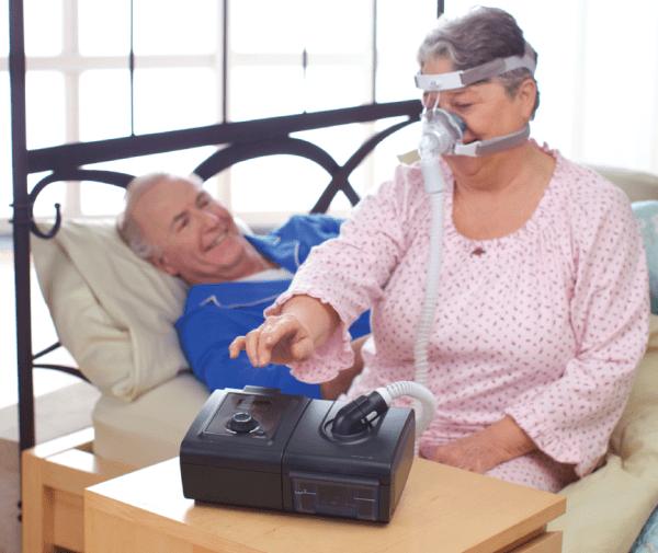 Дыхательный аппарат Philips Respironics BiPAP AVAPS System One применение