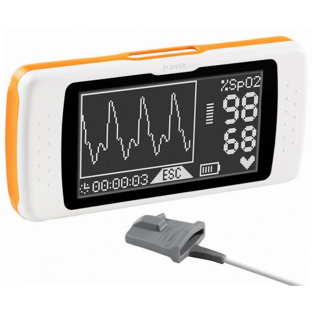 Удобный экран спирометра для анализа выдыхаемого воздуха