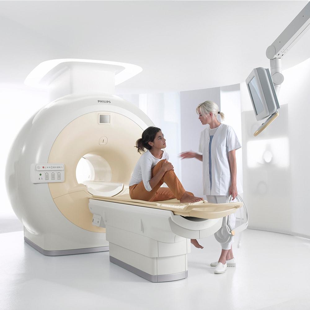 Применение томографа Achieva 1.5 Т в педиатрии и для взрослых