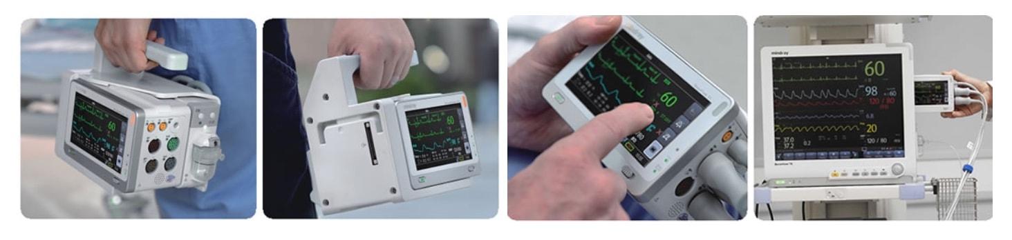 Использование монитора BENEVIEW TDS в мобильных условиях