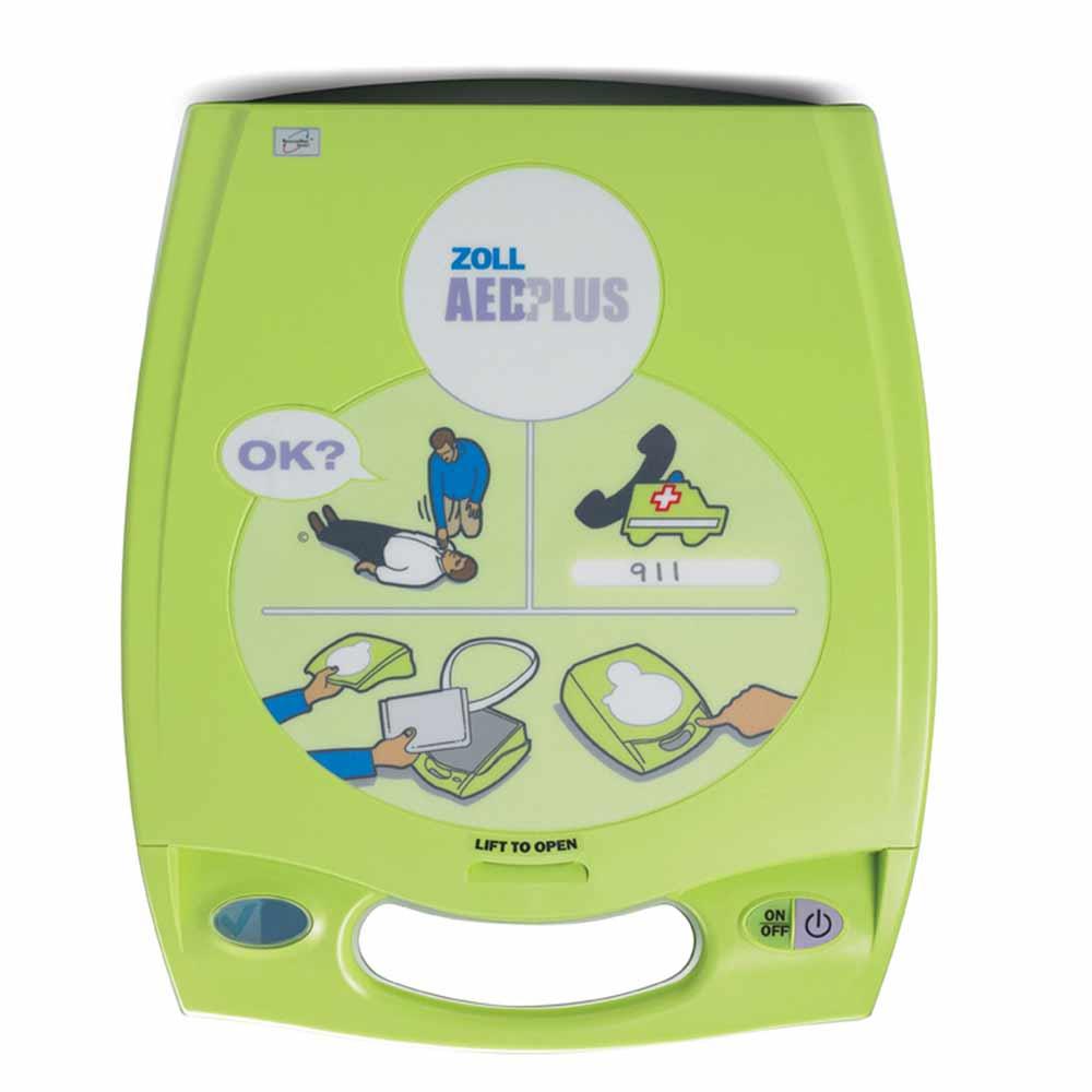 Zoll AED PLUS - дефибриллятор автоматический (АНД)