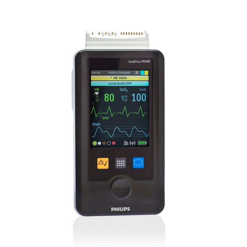 IntelliVue MX40 - носимый монитор пациента