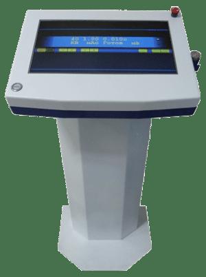 Преимущество - управление одной кнопкой на сенсорной панеле