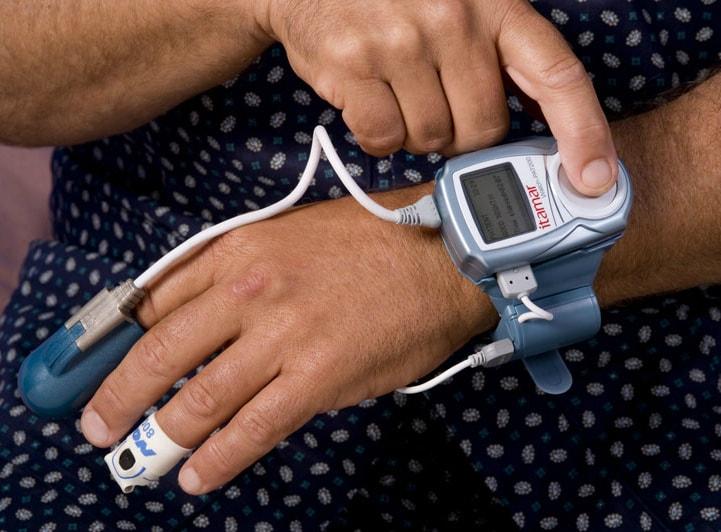 Watch-PAT 200 - мониторинг апноэ во сне