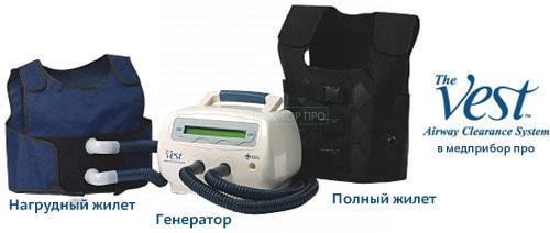 The vest airway clearance system цена в России