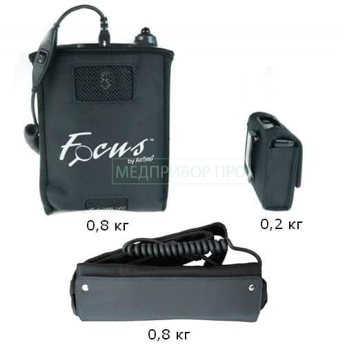Вес кислородного концентратора AIRSEP FOCUS