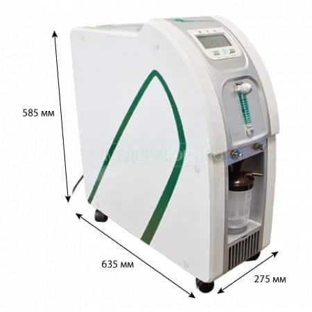 Размеры концентратора ATMUNG 3L-I