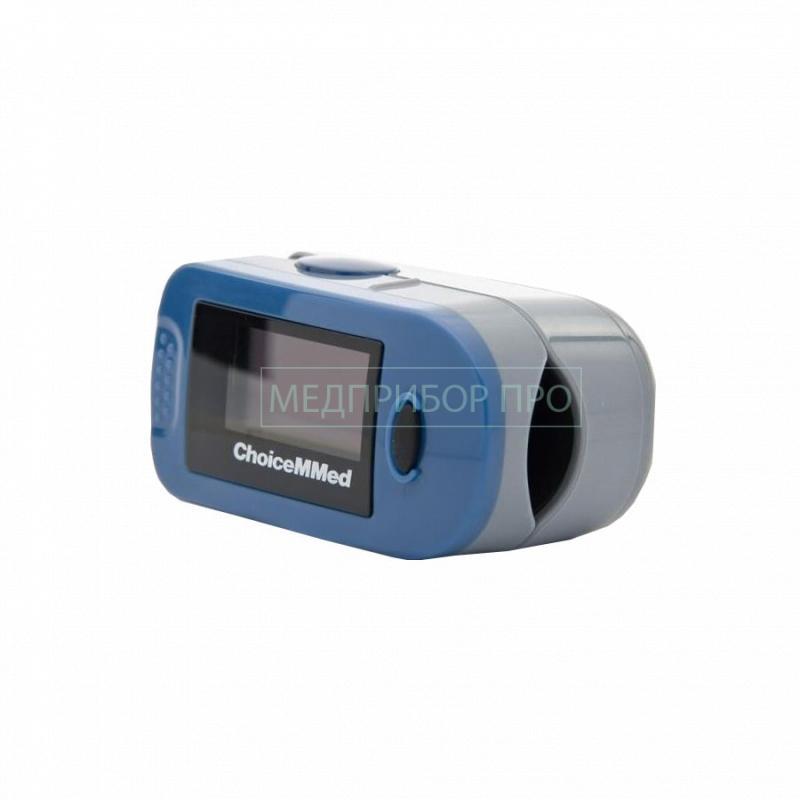 Измерение уровня кислорода с Choicemmed MD300C2 вид сбоку