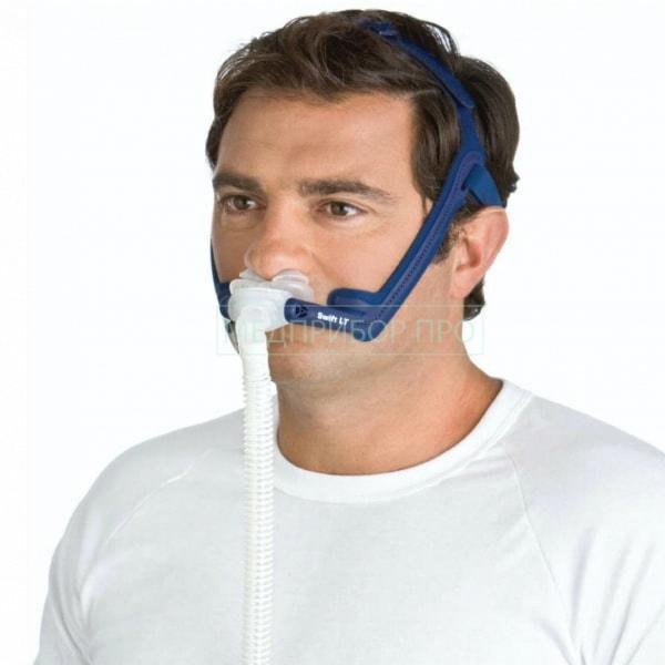 Использование маски Swift LT ResMed