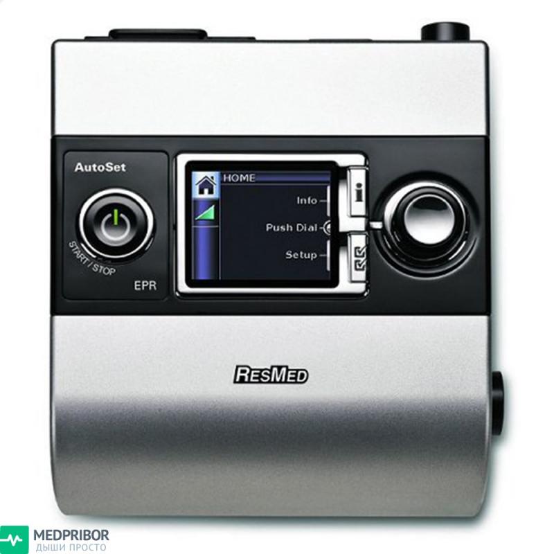 Элементы управления сипап прибором ResMed S9 AutoSet Auto