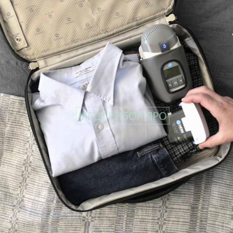 Компактные размеры CPAP HDM Z1 с батареей