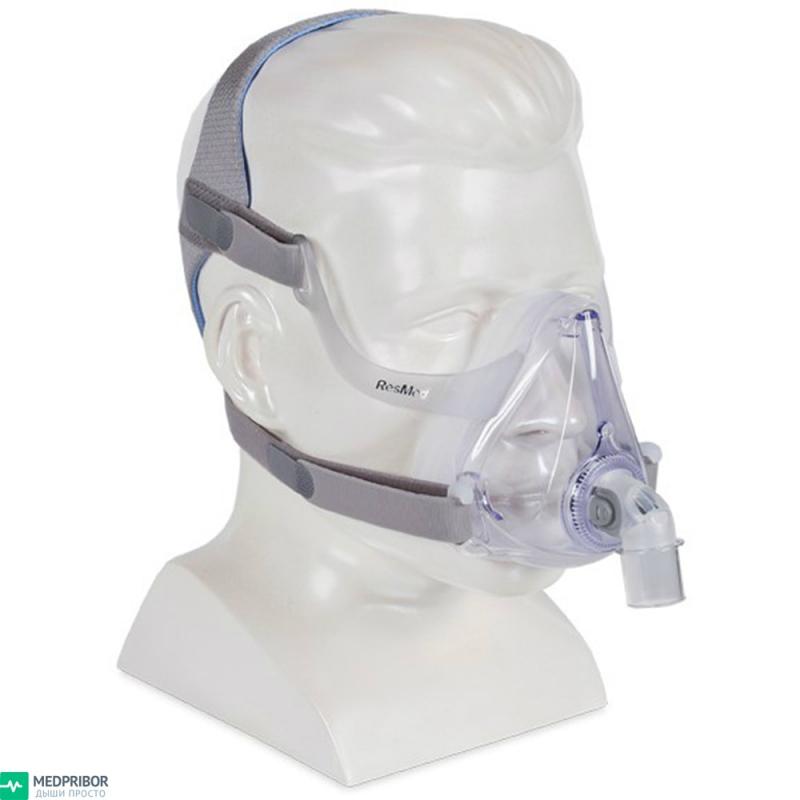 Легкая CPAP маска AirFit F10 ротоносового типа