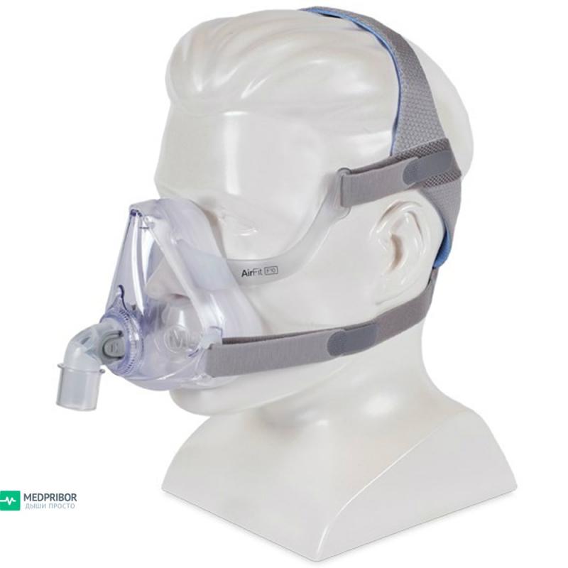 Рото-носовая маска AirFit F10 Resmed (3 размера - S, М, L)
