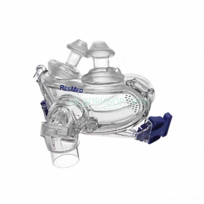Механизм и прилегание рото-носовой маски Resmed Mirage Mirage Liberty