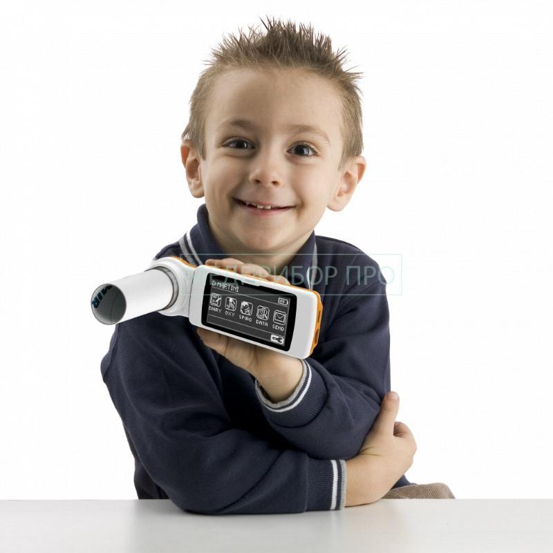 Применение спирометра для детей и взрослых