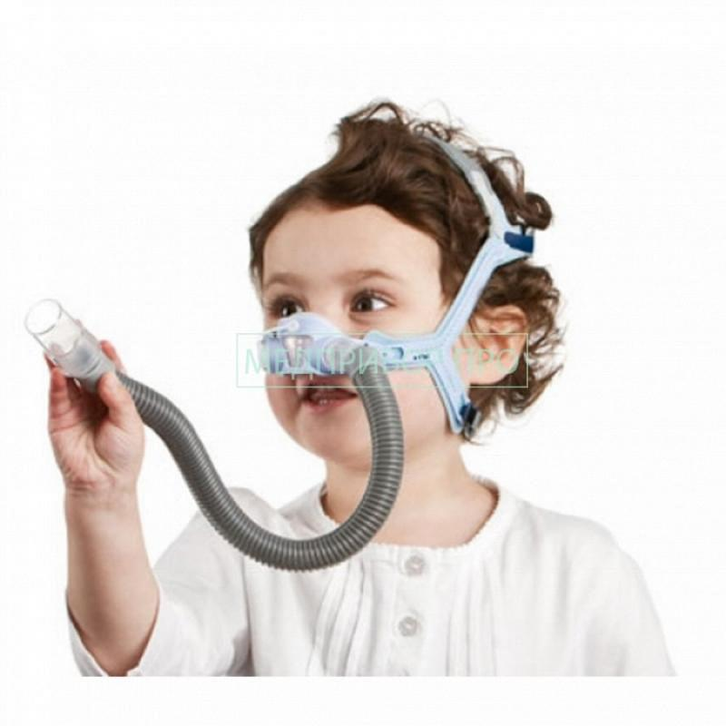Простой коннектор у детской назальной маски Resmed PIXI