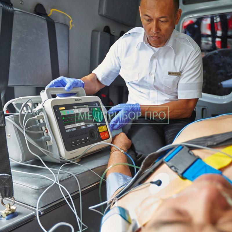 Приминение Philips Efficia DFM100 в скорой помощи
