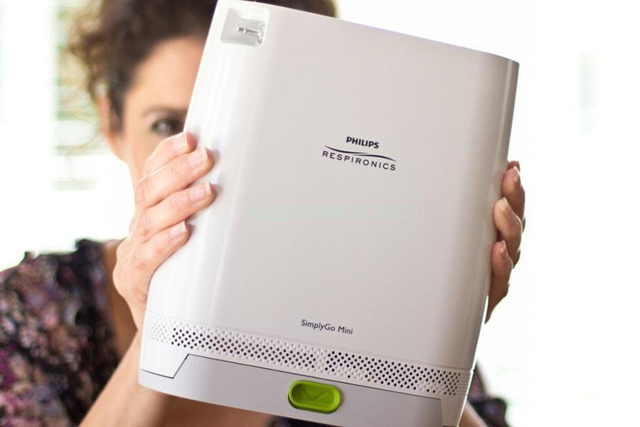 SimplyGo Mini работает в импульсном режиме - новая модель на 5 литров