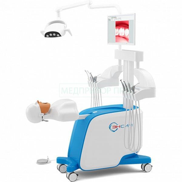 Дентальный стоматологический симулятор с фантомным манекеном