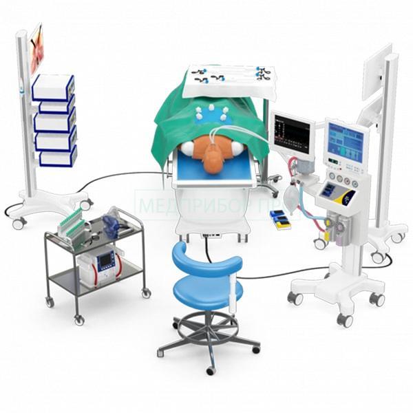 Гибридный стенд для обучения лапароскопии