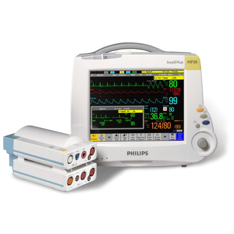 IntelliVue MP30 - сенсорный монитор пациента