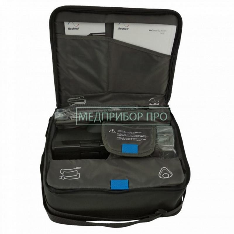 Комплектация аппарата и сумка для переноски Лумис 150