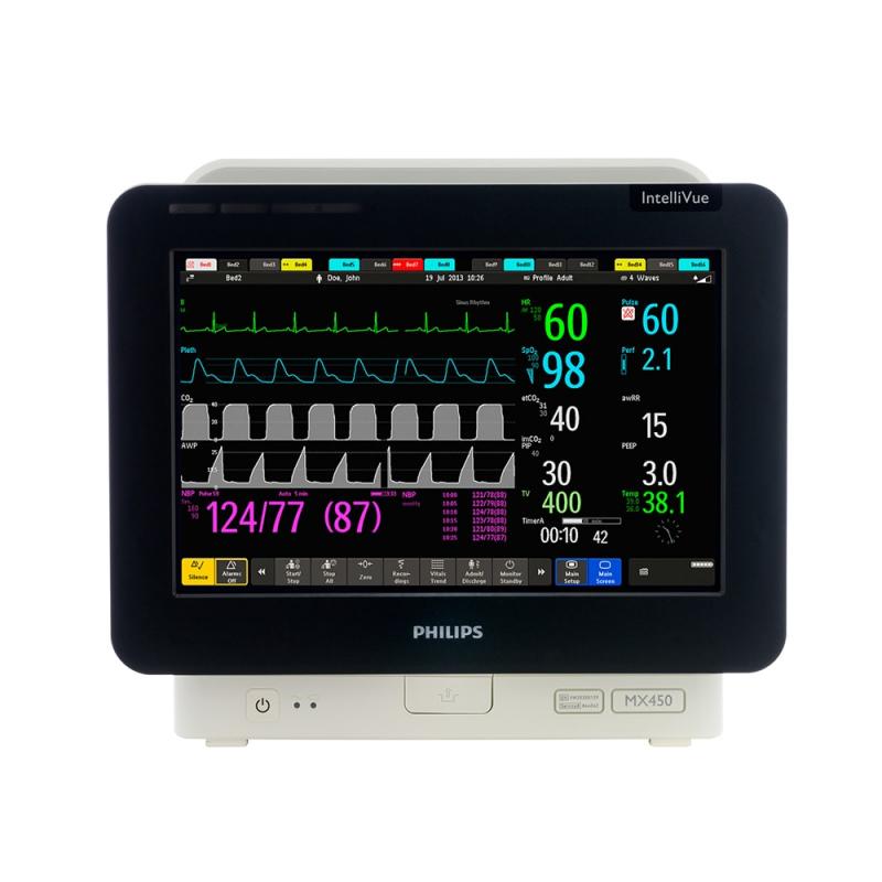 Philips IntelliVue MX450 - прикроватный монитор пациента