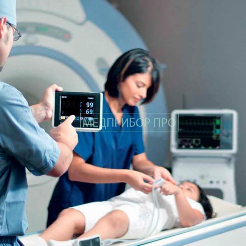 Применение монитора для МРТ в стационаре