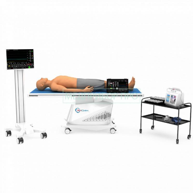 Симулятор взрослого пациента для отработки навыков реанимации ENSIM RAN