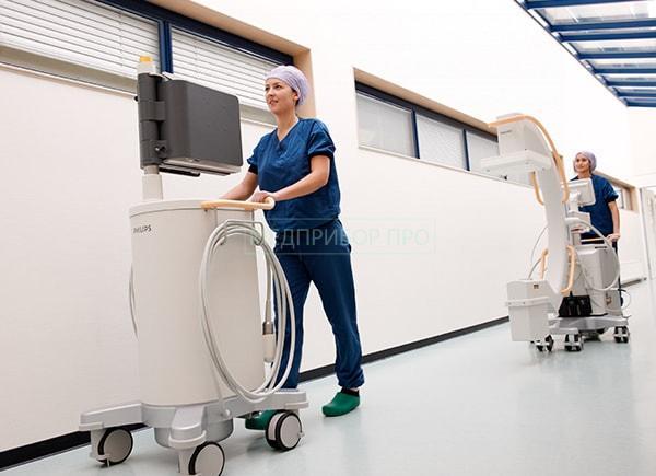 Варианты использования рентгена с мобильной конструкцией
