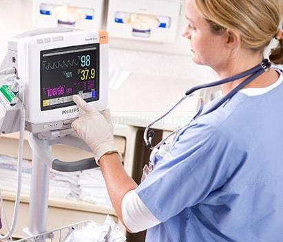 Philips IntelliVue MP5 - монитор пациента портативный