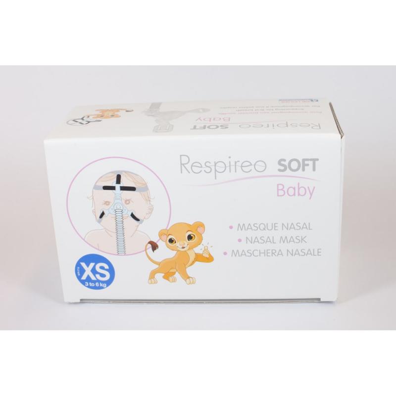 Детская маска Respireo SOFT Baby в упаковке