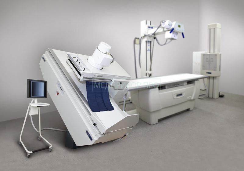 Гамма - рентген с плоскотельным детектором