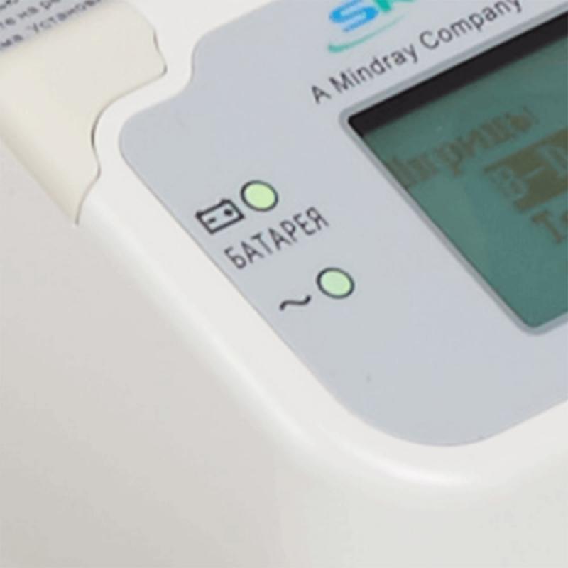 Индикатор батареии и заряда на автономном инфузионном насосе