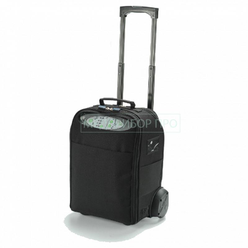 Колеса и ручка для транспортировки DeVilbiss iGo при путешествиях