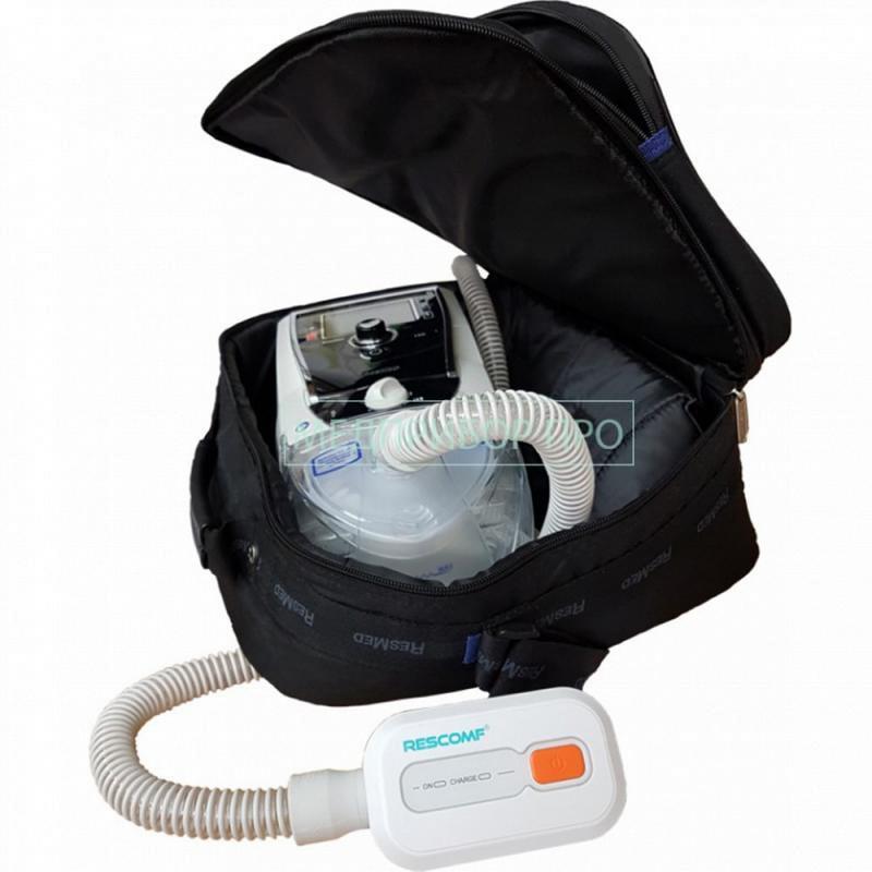Пример подключения дезинфектора к аппарату вентиляции