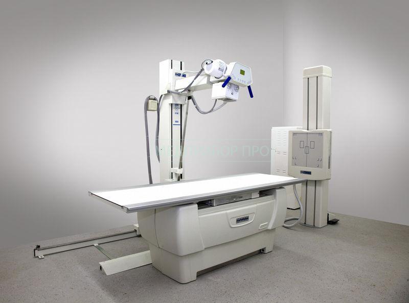Пример установки комплекса рентгенологического ГАММА на 2 места