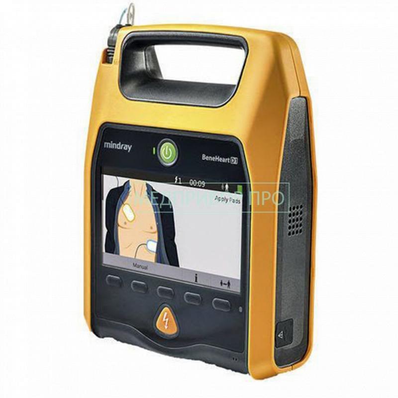 Система AED Alert и цветной экран дефибриллятора BeneHeart D1