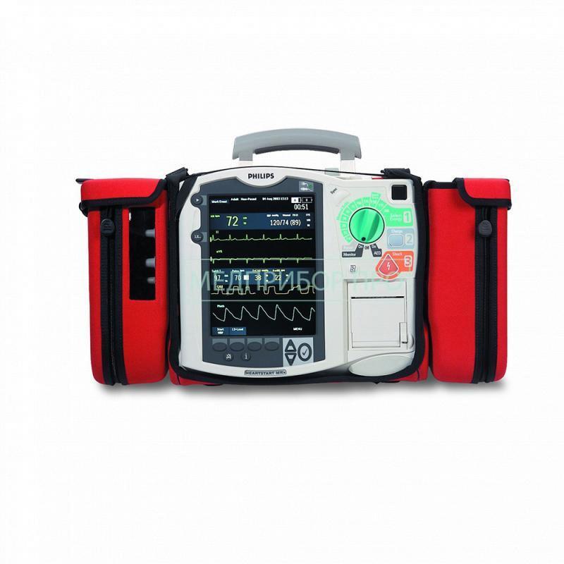 Philips HeartStart MRx с кейсом для транспортировки