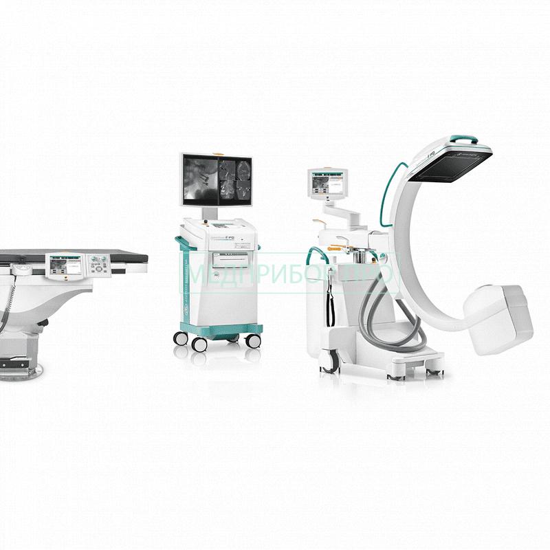 Пример установки Ziehm Vision RFD 3D - рентген С-дуга