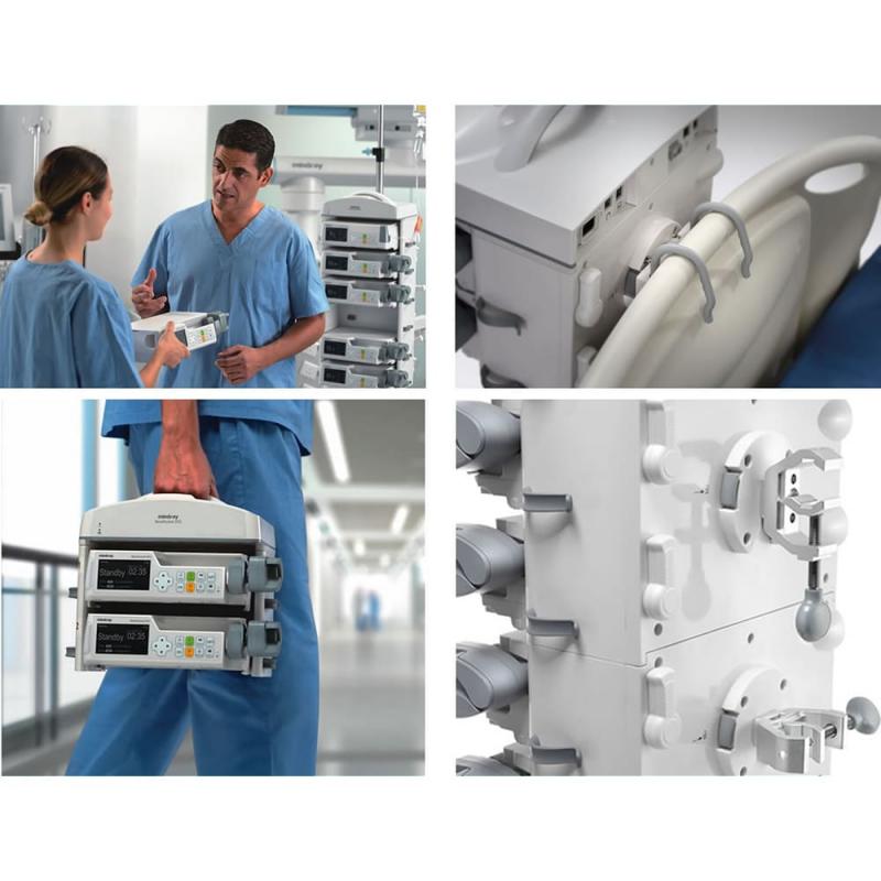 Работа инфузионной системы BeneFusion DS5