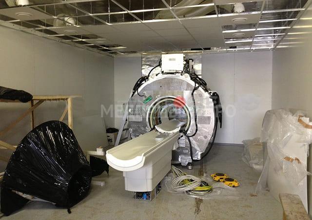 Монтаж восстановленного МРТ Philips