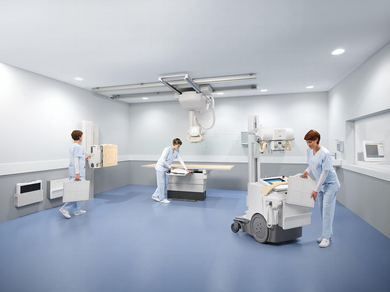 Детекторы для рентгена беспроводные