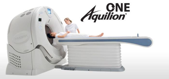 Особенности КТ Aquilion ONE