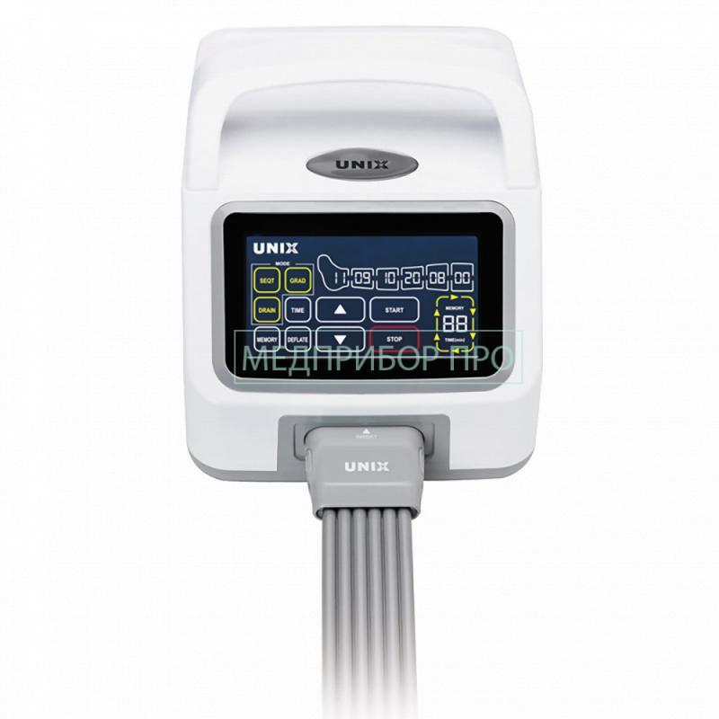 Lymphanorm Pro - подключение одного пациента