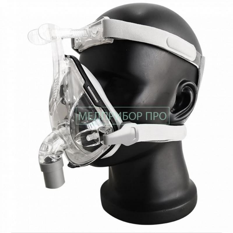 СИПАП маска с подключением концентратора кислорода