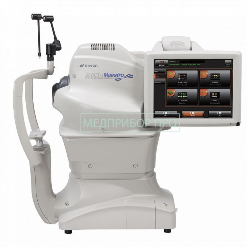 Topcon 3D OCT-1 Maestro - оптический когерентный томограф