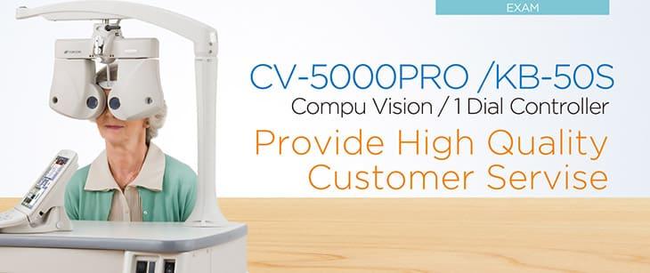 Topcon CV-5000PRO - применение аппарата