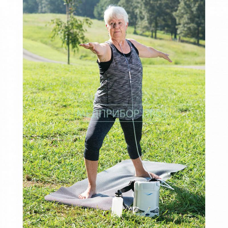 Использование AirSep Freestyle Comfort на природе