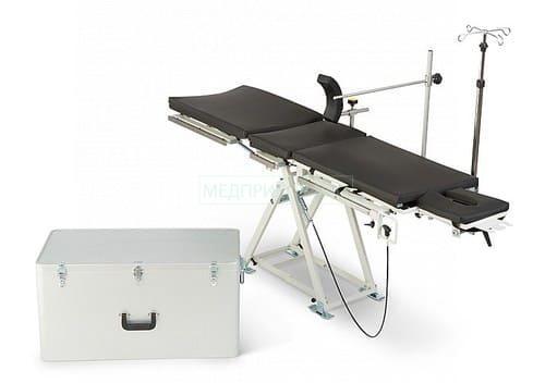 Полевой операционный стол - особенности